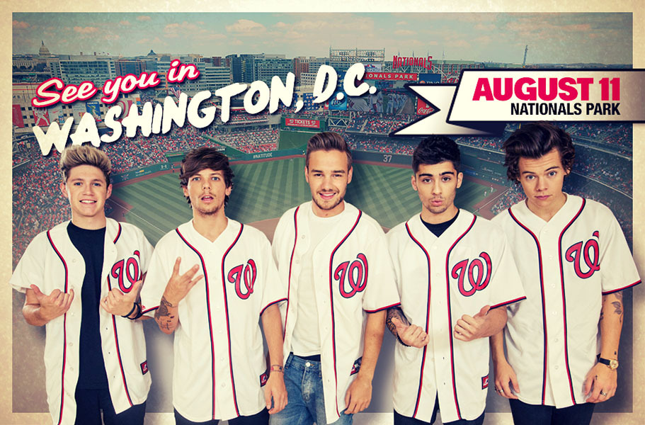 One Direction Upcoming Shows  Live Nation